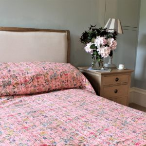 Muted Pink Bedcover