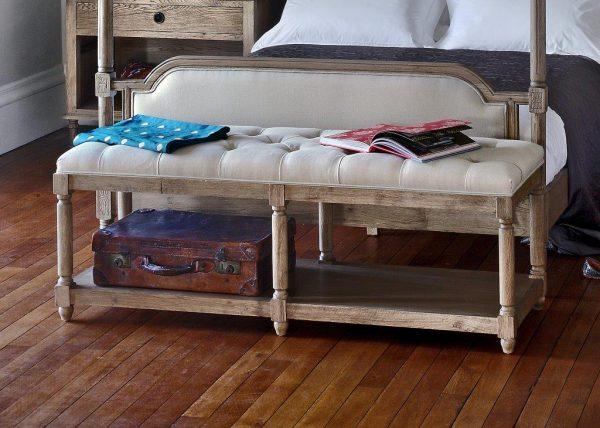 Upholstered Bench Stool
