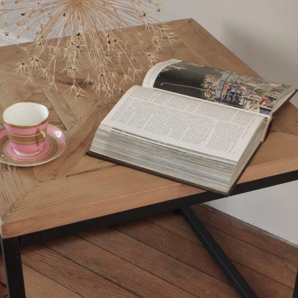 Lofty parquet table