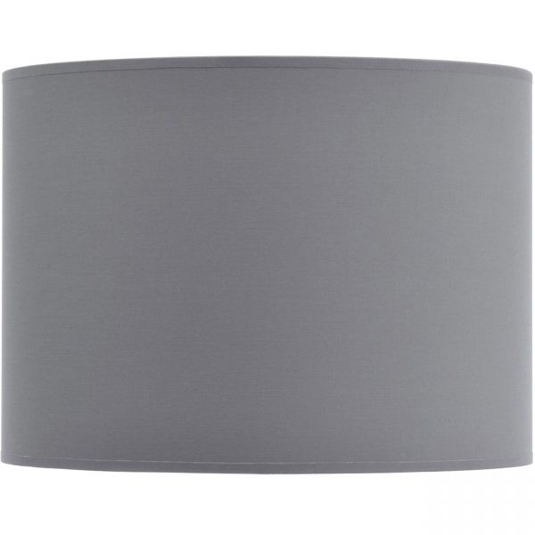 """Drum shade 16"""" with silver lining"""