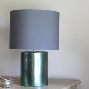 Emerald Green ceramic lamp