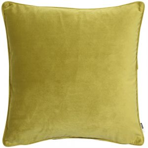 Acid Green Chartreuse velvet cushion