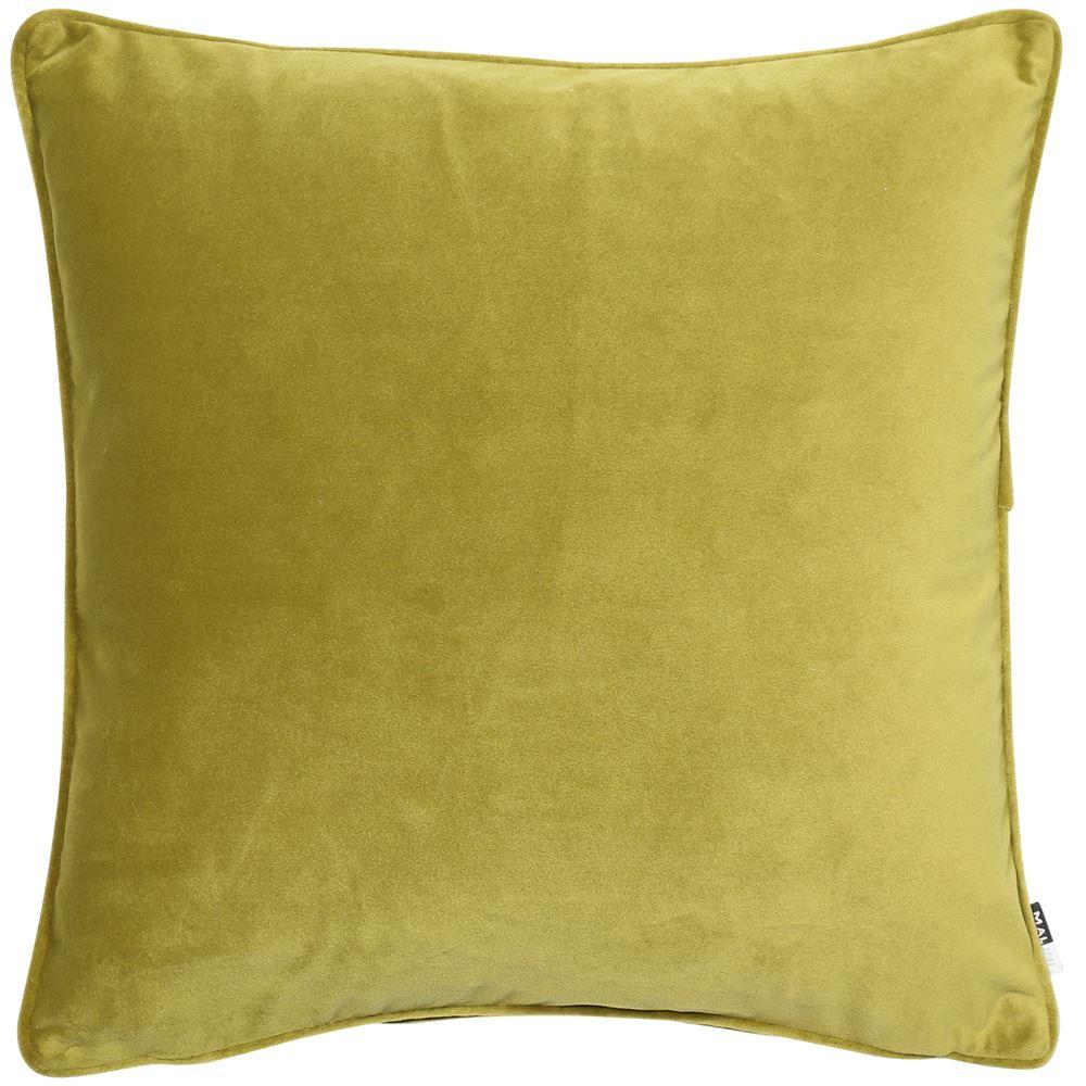 Acid Green Chartreuse velvet cushion
