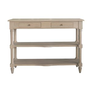 Ledbury Weathered Oak console