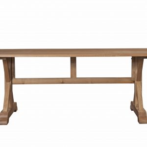 Vermont Weathered Oak Dining Table