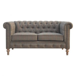 Tweed Chesterfield Sofa