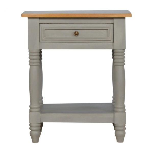 Loire bedside or lamp table