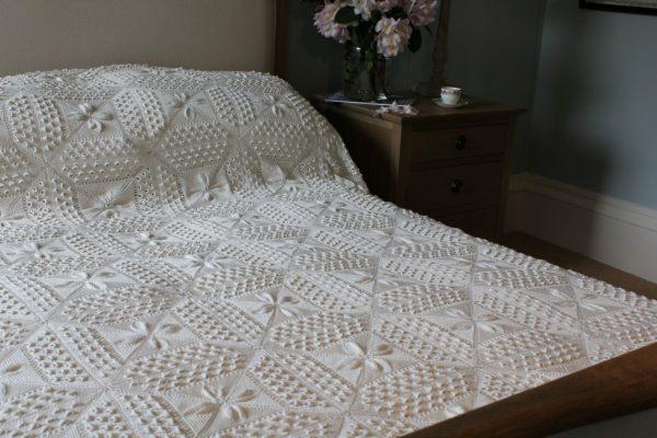 Vintage Crochet bedcover